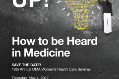 OMA Seminar: Save the Date