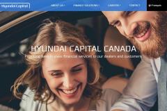 Hyundai Capital Canada Corporate Site
