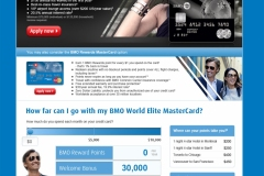 BMO Bank of Montreal Campaign Landing Page